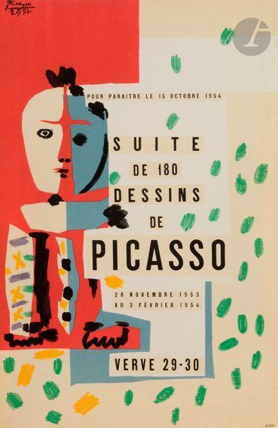 Pablo PICASSO (1881-1973) (d'après) Affiche...