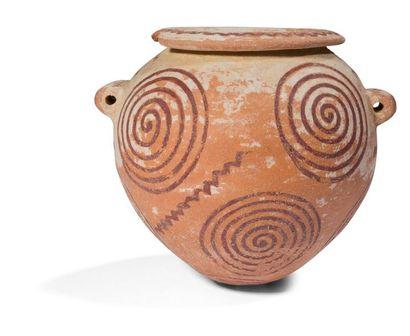 ÉGYPTE. Vase à panse piriforme et à lèvre...