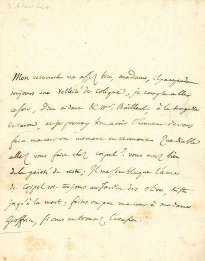 alembert Jean Le Rond d' (1717-1783) philosophe...