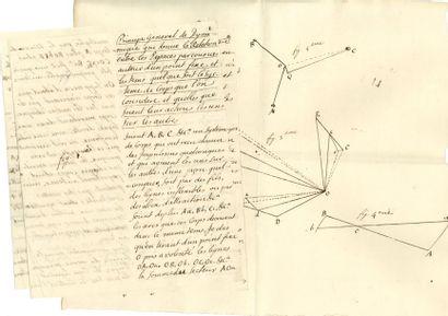 ARCY Patrice d' (1725-1779) mathématicien,...
