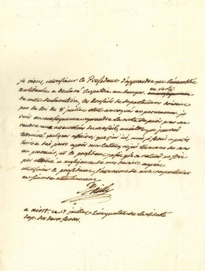 BAILLY Jean Sylvain (1736-1793) savant et...