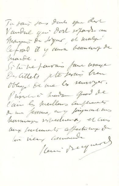 BECQUEREL Henri (1852-1908) physicien, il...