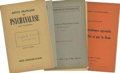 BONAPARTE Marie (1882-1962). Ensemble de...
