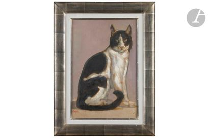 PAUL JOUVE (1878-1973) Le chat Mickey, vers...