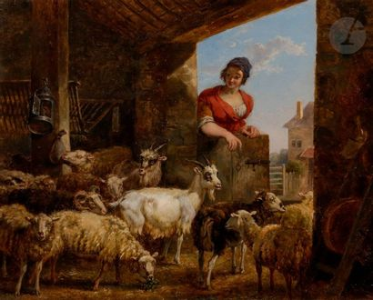 Attribué à Jean-Louis DEMARNE (1752-1829)...