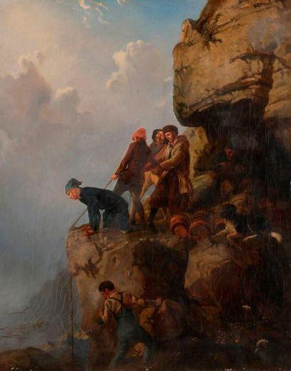 ECOLE FRANÇAISE du XIXe siècle, entourage...