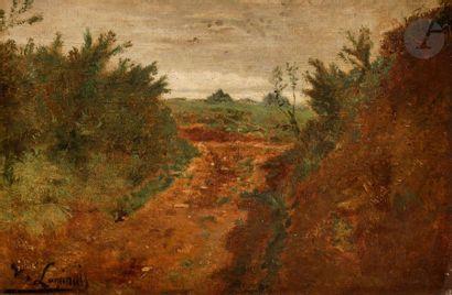 Évariste LUMINAIS  (Nantes, 1821 - Paris,...