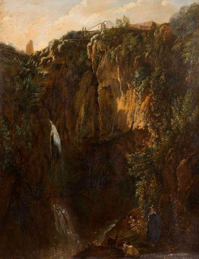Auguste de FORBIN (1777-1841)  Les Cascatelles...