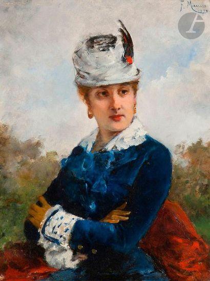 Francisco MIRALLES Y GALUP (1848-1901)  Jeune...