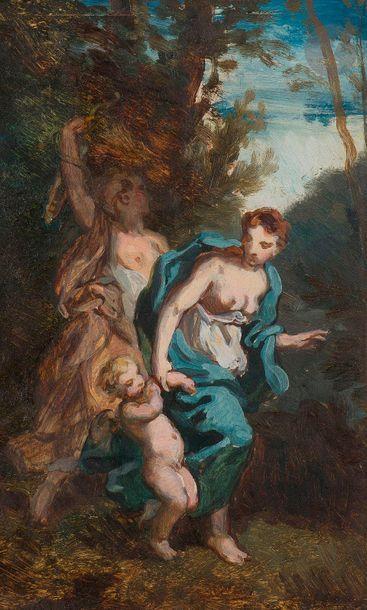 Attribué à Narcisse DIAZ de la PENA  (1807-1876)...