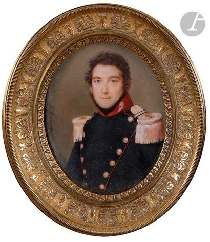 Florentin de CRAENE (1795-1852)  Portrait...