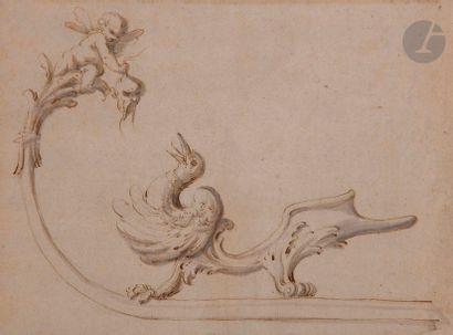 ÉCOLE FRANÇAISE du début XVIIIe siècle  Projet...
