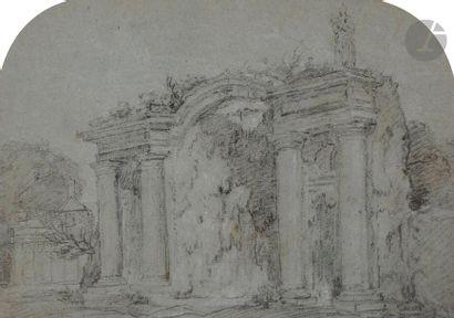 ÉCOLE FRANÇAISE du milieu du XVIIIe siècle...