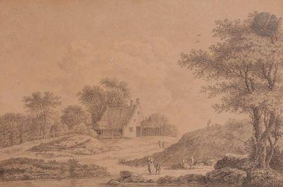 Comte Jean-Baptiste de MACHAULT  Paysage...