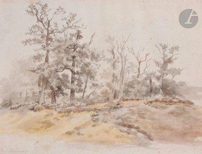Jean-Louis de MARNE (1752-1829)  Paysage...