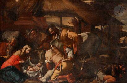 ÉCOLE VENITIENNE vers 1600,  suiveur des...