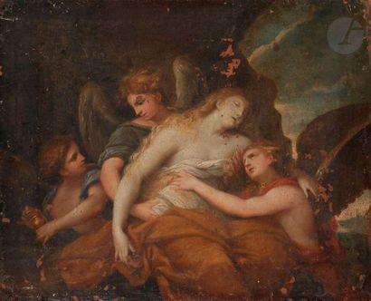 ÉCOLE ITALIENNE vers 1700,  suiveur de Pietro...