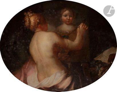 Attribué à Pietro LIBERI (1605-1687)  Allégorie...