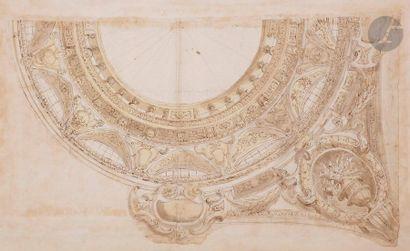 ÉCOLE ITALIENNE du XVIIIe siècle,  ENTOURAGE...