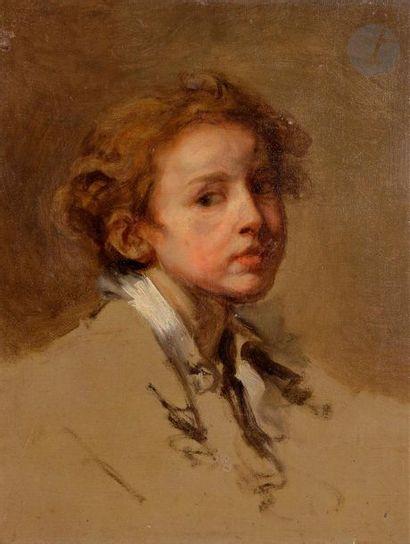 ECOLE FRANÇAISE vers 1800,  suiveur de Jean-Baptiste...