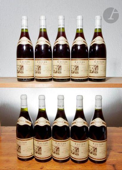 10 B CORTON (Grand cru), Couvent des Cordeliers,...