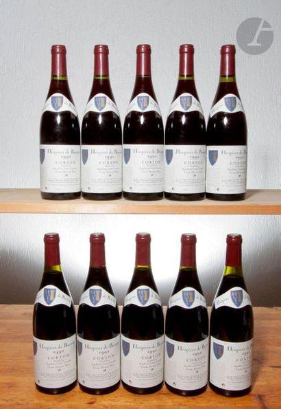 10 B CORTON HOSPICES DE BEAUNE CUVÉE DOCTEUR...