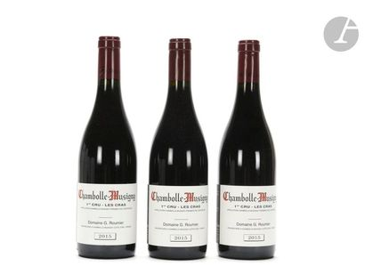 3 B CHAMBOLLE-MUSIGNY LES CRAS (1er cru), Georges Roumier, 2015
