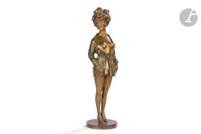 MAURICE MILLIÈRE (1871-1946) La parisienne...