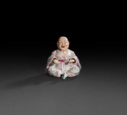 Allemagne  Statuette en porcelaine représentant...