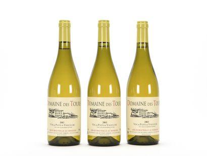 3 B VIN DE PAYS DE VAUCLUSE Blanc, Domaine...
