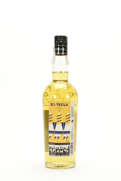 1 B CHARTREUSE JAUNE SANTA TECLA 70 Cl 43% (mise 2013), Pères Chartreux, NM TVA...