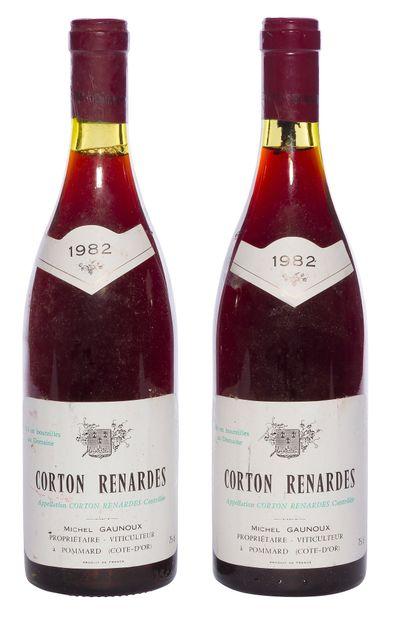 2 B CORTON-RENARDES (Grand Cru) (e.l.s ;...