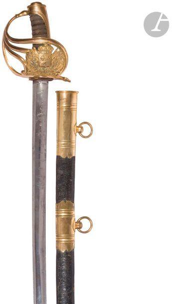 Sabre de garde du corps du Roi, 1er modèle,...
