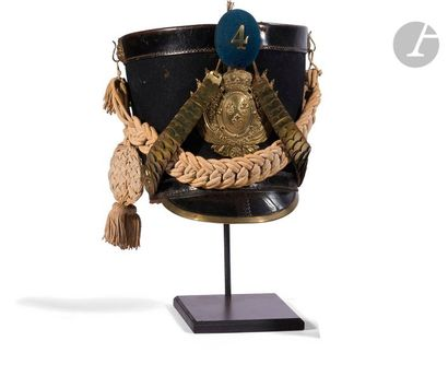 Shako d'infanterie suisse de la garde royale...