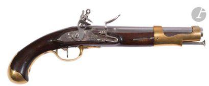 Pistolet d'arçon à silex modèle 1763 / 66....