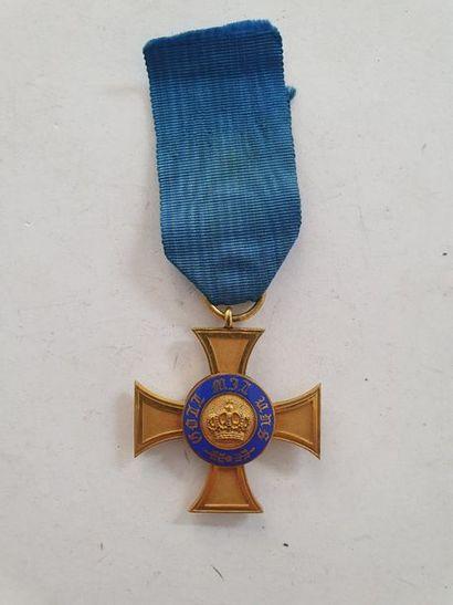 ALLEMAGNE - PRUSSE ORDRE DE LA COURONNE Croix...