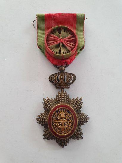 CAMBODGE ORDRE ROYAL DU CAMBODGE Étoile d'officier...