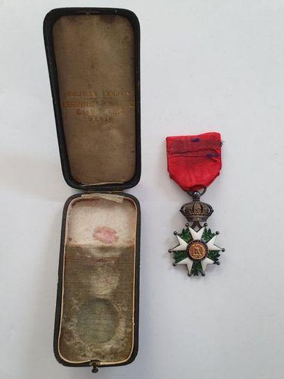 FRANCE ORDRE DE LA LÉGION D'HONNEUR Étoile de chevalier d'époque Second Empire....