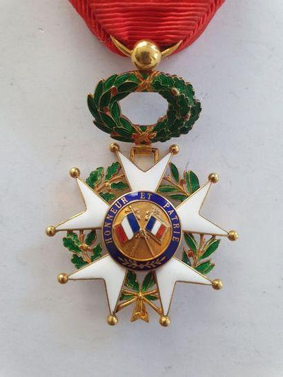 FRANCE ORDRE DE LA LÉGION D'HONNEUR Étoile d'officier d'époque IIIe République....