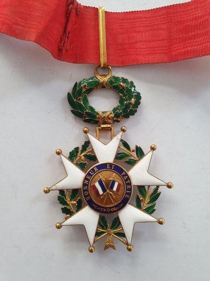 FRANCE ORDRE DE LA LÉGION D'HONNEUR Étoile de commandeur d'époque IIIe République....