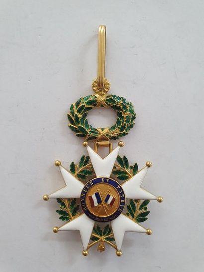 FRANCE ORDRE DE LA LÉGION D'HONNEUR, institué en 1802. Étoile de commandeur d'époque...
