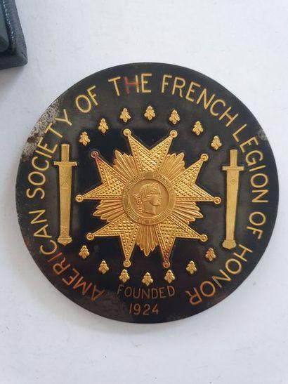 SOUVENR DU GRAND CHANCELIER DE LA LÉGION D'HONNEUR FORRAY Grande médaille offert...