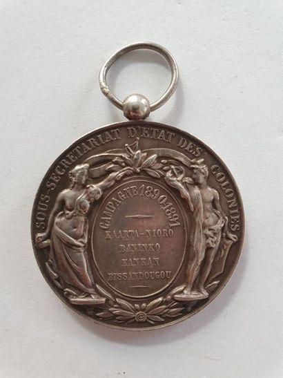 FRANCE Rare médaille du sous-secrétariat...