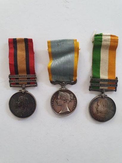 ROYAUME-UNI Une médaille de Crimée en argent...