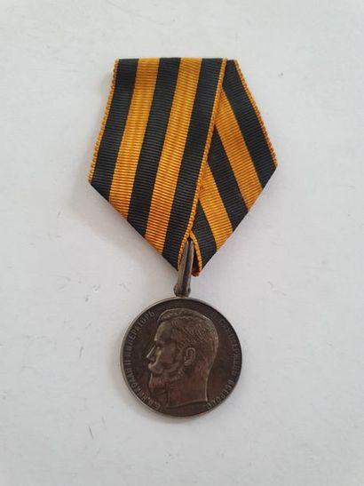 RUSSIE IMPÉRIALE ORDRE DE SAINT GEORGES Médaille...