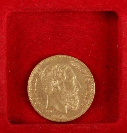 1 pièce de 20 Francs.en or Union Latine....