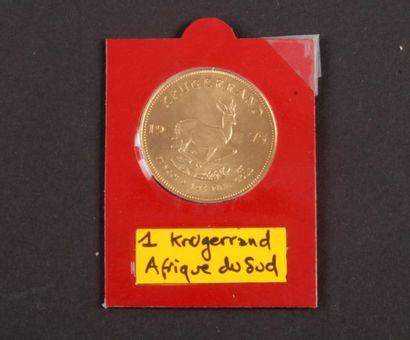 AFRIQUE DU SUD. 1 Krugerrand en or. 1975