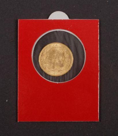 SERBIE. Lot de 3 pièces en or: - 20 Dinara...