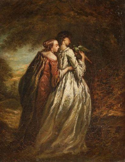 Attribué à Henri-Charles-Antoine BARON (1816-1885)...