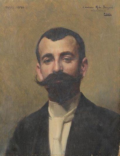 Paul SAÏN (Avignon, 1853-1908) Portrait...